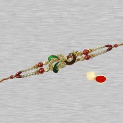 Remarkable One Long Bracelet Design Rakhi