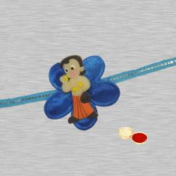 Cute 1 Chhotta Bheem Design Kids Rakhi