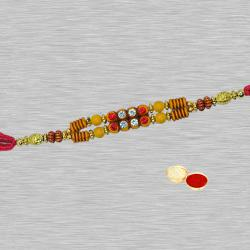 Suave One Simple Stone Rakhi