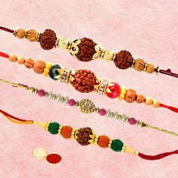 Set of Four Rakhi