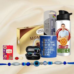 Cool Work From Home Rakhi Gift Hamper for Brother