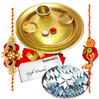 Auspicious Rakhi Hamper with Love for your Brother