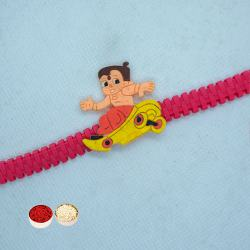 Angry Bird Rakhi Band and Roli Tilak Chawal