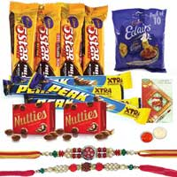 Bewitching Rakhi Assortment