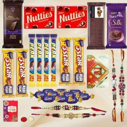 Tempting Rakhi Chocolates