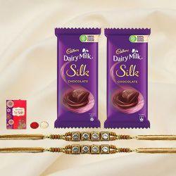 Scintillating Rakhi Gift Pack