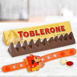 Exclusive Motu Patlu Rakhi with Toblerone Swiss Chocolate