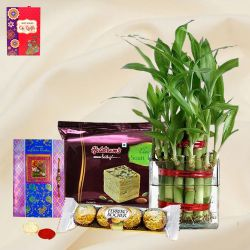 Eco Friendly Rakhi Assortment Gifts