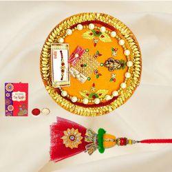 Designer Pooja Thali n Lumba for Sister/Niece