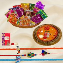 Haldirams Assortment Rakhi Gift for Family