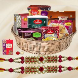 Haldirams Assortment Rakhi Gift Basket