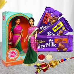 Marvelous Barbie with Designer Lumba and Cadbury Chocolates