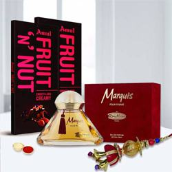 Remy Marquis Pour Perfume with Amul Chocolate n Lumba