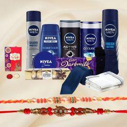 Nivea Grooming Kit for Men with Two Fancy Rakhi