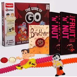 Funskool Game of Go with Rakhi N Amul Chocolates