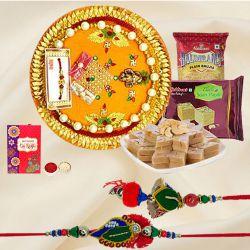 Bhaiya Bhabhi Rakhi Gift from Haldirams