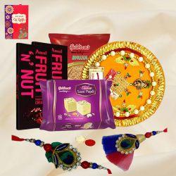 Special Rakhi Pooja Gift for Bhaiya n Bhabhi