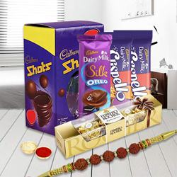 Rakhi Special Chocolate Hamper for Brothers