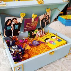 Marvelous Rakhi Hamper Box for Bro