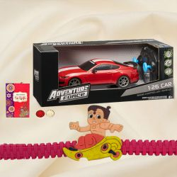 Remote Control Car with Kids Rakhi