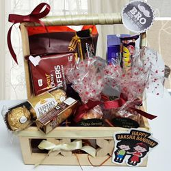 Happy Raksha Bandhan Gift of Assortment for your Bro