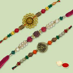 Ethnic Rakhi Thread