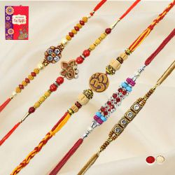 Exclusive Rakhi Set-5 Pcs Rakhi