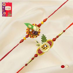 Mesmerizing Ethnic Rakhi Set
