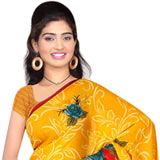 Gaudy Collection of Suredeal Georgette Printed Saree