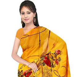 Remarkable Suredeal Georgette Printed Saree for Women