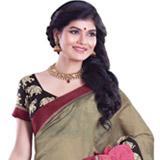 Exquisite Dap Chanderi Saree