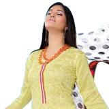 Refreshing Yellow Cotton Salwar Kameez