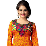 Popular Women's Art Silk Colour Co-Ordinated Printed Suit