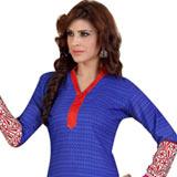 Fascinating Siya Women�s Crepe N Chiffon Printed Salwar Suit