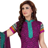 Remarkable Siya Collection Crepe N Chiffon Printed Salwar Suit
