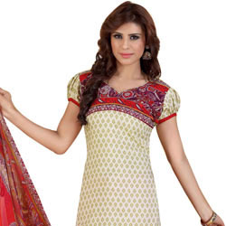 Magnificent Crepe N Chiffon Printed Siya Salwar Suit