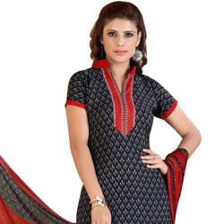 Impressionable Crepe N Chiffon Printed Siya Salwar Suit