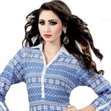 Tailored Cotton Printed Kurti