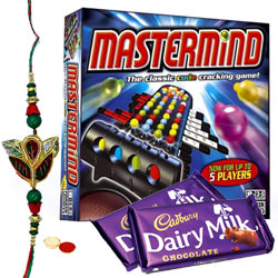 Mastermind – A game of Mind with Free Kids Rakhi with Chocolates