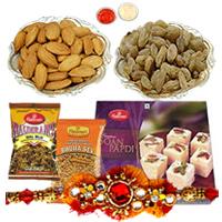 Delightful Spread to Share Rakhi Gift Hamper