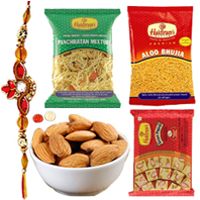 Delectable Timeless Treat Gourmet Hamper for Rakhi Celebration