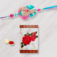 Exclusive Rakhi with Rakhi Card for your Dear Brother