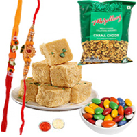Palatable Rakhi Combo Set