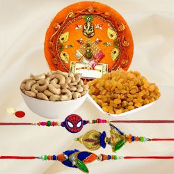 Crafted with Love Rakhi Thali Covey