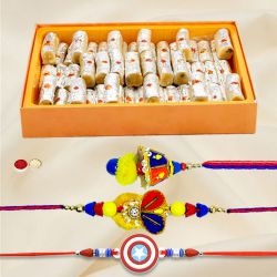 Sublime Creation Rakhi Gift Combo