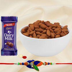 Healthful Almonds Rakhi Gift Combo