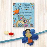 Kids favorite Chota Bheem Rakhi With Beautiful Rakhi Card