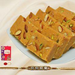Irresistible Patisha Pack of 500 gm with 1 Rakhi
