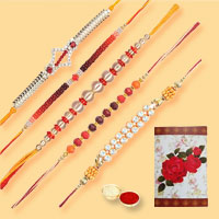 Exciting Presentation of 5 Sweet Rakhi