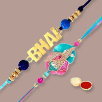 Designer Dual Set of Rakhis